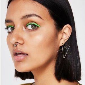 Dolls Kill Wired Star Earrings